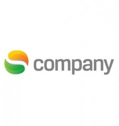 abstract blog logo vector image