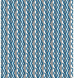 Bright rhythmic textured endless pattern stripy vector image