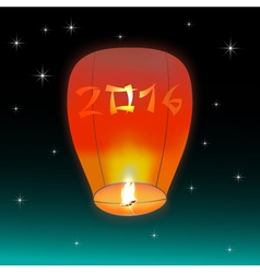 Chinese lantern 2016 vector