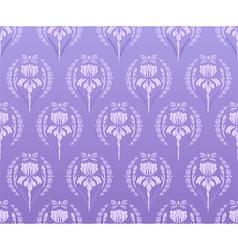Seamless wallpaper iris background vector