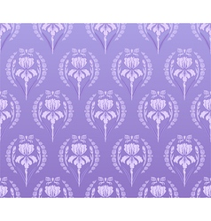 Seamless walpaper iris background vector