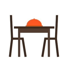Dining Table I vector image
