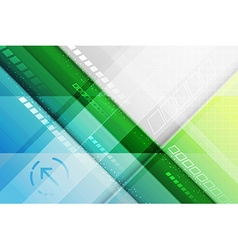 Abstract futuristic background Lines and arrow vector
