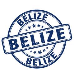 Belize stamp vector