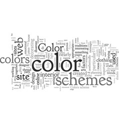 Color plays an important role in design and vector