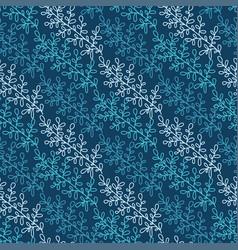 floral seamless pattern background design vector image