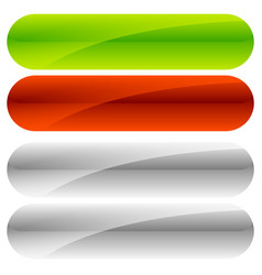 Green red button backgrounds gray versions vector