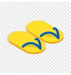 Slates isometric icon vector