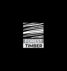 Timber logo timber icon vector