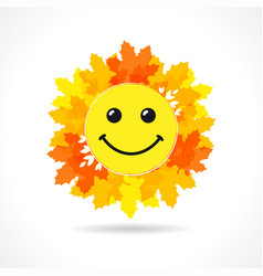 world smile day october 1 leaves vector image