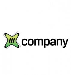 online digital content logo vector image vector image