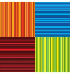 four colors vector image vector image
