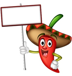 Mexican Red Chilli vector image vector image