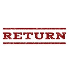 Return watermark stamp vector