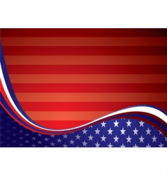 usa American background vector image vector image