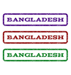 bangladesh watermark stamp vector image