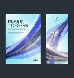 business brochure cover or banner design template vector image
