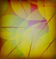 Fresh leaves of the tree vector image