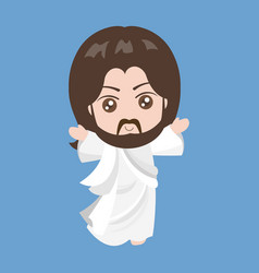 Jesus rising vector