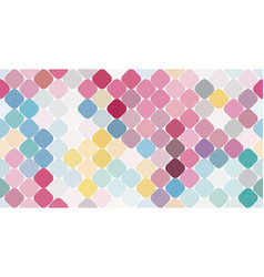 multicolor seamless pattern vector image