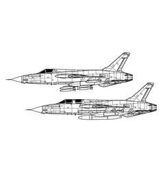 Republic f-105 thunderchief vector