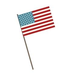 Usa flag symbol vector
