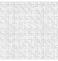 seamless puzzle background vector image