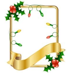 Christmas cards with Christmas balls vector image vector image