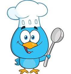 Chef Bird Cartoon vector image vector image
