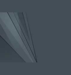 Dark grey abstract tech material minimal vector