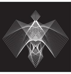 Geometry figure for design vector