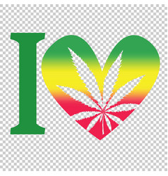 marijuana therapy medical and health care rasta vector image