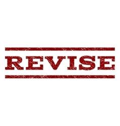 Revise Watermark Stamp vector