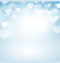 Romantic bokeh background vector image