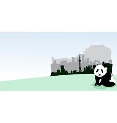 Shanghai Skyline vector