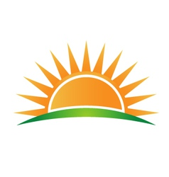 Sunshine logo vector