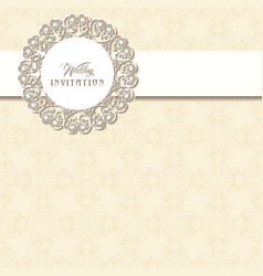 Indian Wedding Invitation Card Pattern Vector Images Over 3 500
