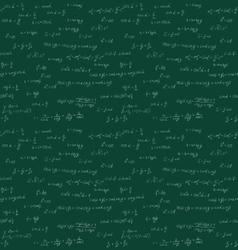 Seamless mathematics handwriting vector image