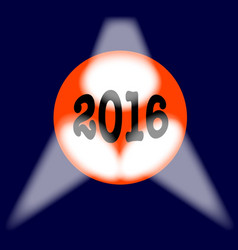 2016 globe vector