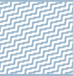 diagonal wavy lines seamless pattern abstract vector image