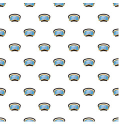 diving mask pattern vector image