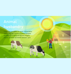 Is written animal husbandry vector