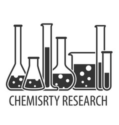 Equipment for chemical lab vector