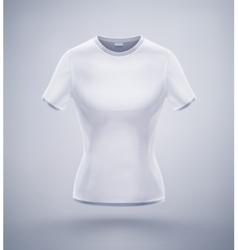 Womens T-Shirt vector image vector image