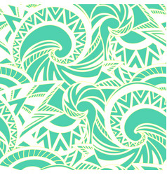 Boho style pattern vector