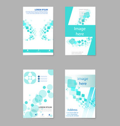 Brochure layout template cover design background vector