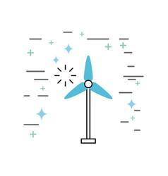 fan image vector image
