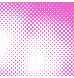 Geometrical halftone dot pattern background from vector