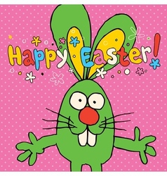 Happy Easter card 5 vector