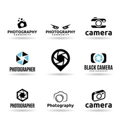 Icons For Photographers vector